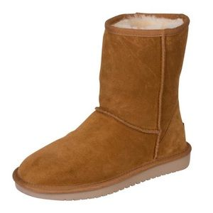 UGG Koolaburra Short Chestnut Shearling Boots 7